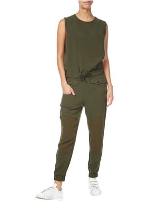 G-Star Raw Jumpsuit im Military-Look in Grün - 1