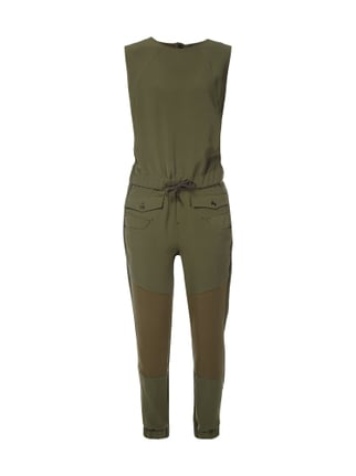 Jumpsuit im Military-Look Grün - 1