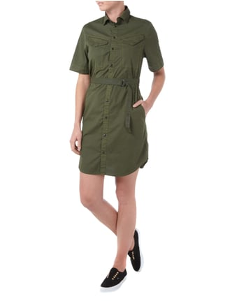 G-Star Raw Kleid im Military-Look in Grün - 1