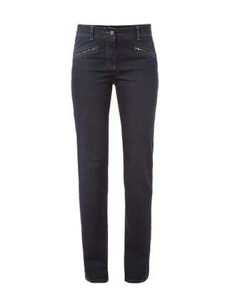 One Washed Straight Fit Jeans Blau / Türkis - 1