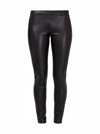 Leggings in Lederoptik Grau / Schwarz - 1
