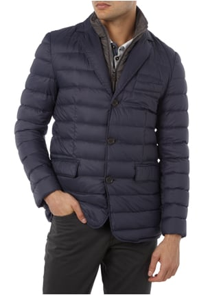 Paul Rosen Men Light-Daunenjacke im 2-in-1-Look Marineblau - 1