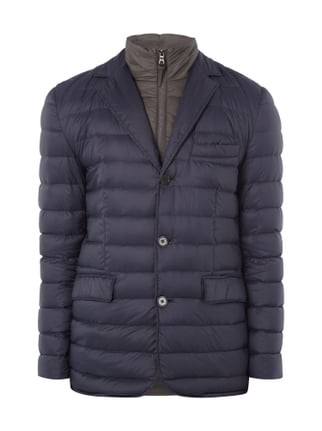 Light-Daunenjacke im 2-in-1-Look Blau / Türkis - 1