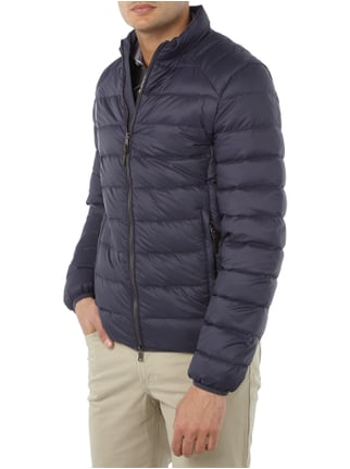 Paul Rosen Men Light-Daunenjacke mit Steppnähten Marineblau - 1