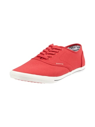 Sneaker aus Canvas Rot - 1