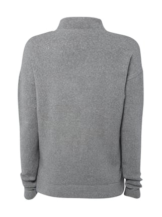 Jake*s Casual Pullover mit Turtleneck Dunkelgrau - 1
