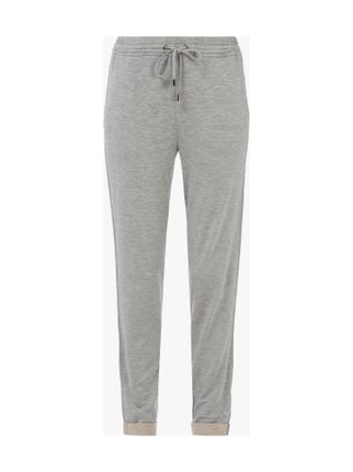 Sweatpants in Melangeoptik Grau / Schwarz - 1