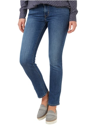 Levi's® 712 SLIM Stone Washed Slim Fit Jeans Jeans meliert - 1