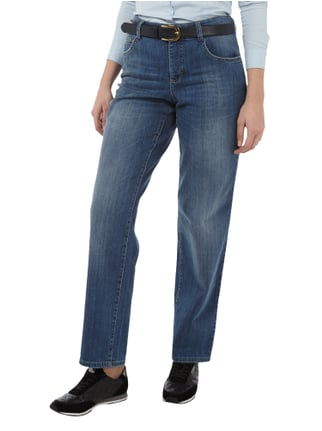 MAC Stone Washed Straight Fit Jeans Jeans meliert - 1