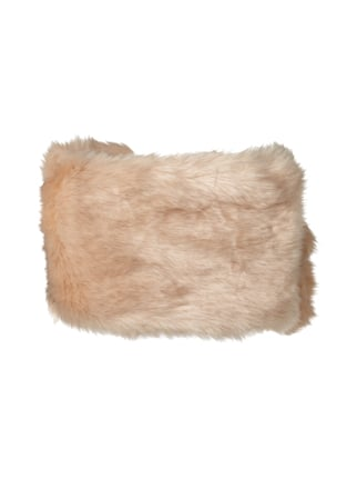 Marc Cain Collections Schal aus Fake Fur Hellrosa - 1