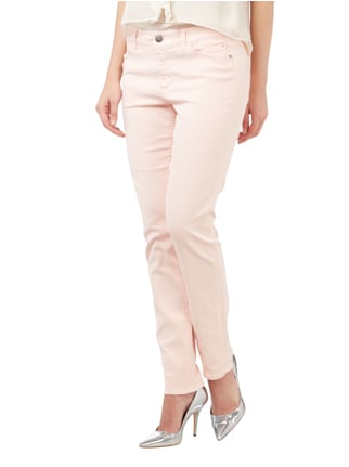 Marc Cain Collections Slim Fit Jeans im Washed Out-Look Pink - 1