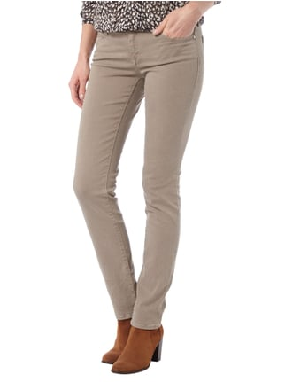 Mavi Uptown Slim Skinny Jeans aus Coloured Denim Schlamm - 1
