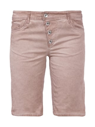 Bermudas im Washed Out-Look Rosé - 1