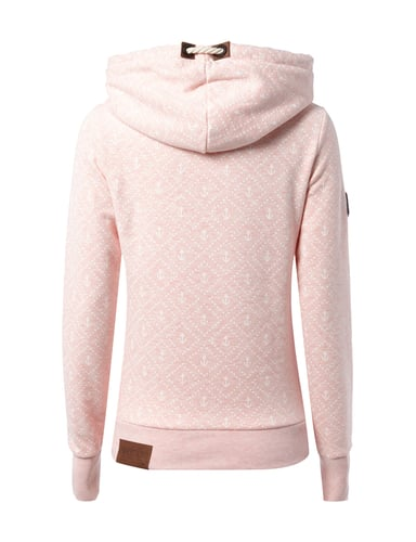 naketano hoodie mit anker print in ros online entdecken 9521230 p c online. Black Bedroom Furniture Sets. Home Design Ideas
