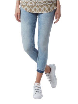 Only Cropped Skinny Fit Jeans im Used Look Jeans - 1