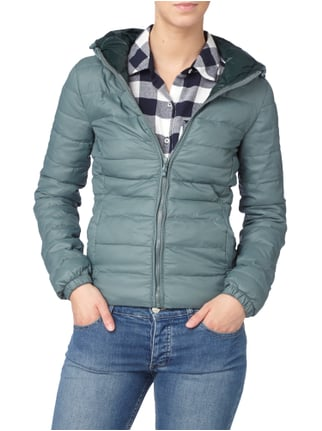 Only Steppjacke mit Kapuze Mint - 1