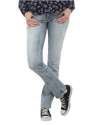 Pepe Jeans Regular Fit Bleached Jeans Mittelgrau - 1