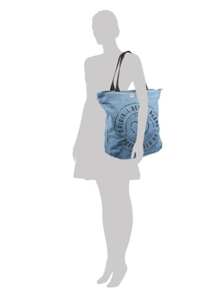 Pepe Jeans Shopper aus Denim in Blau / Türkis - 1