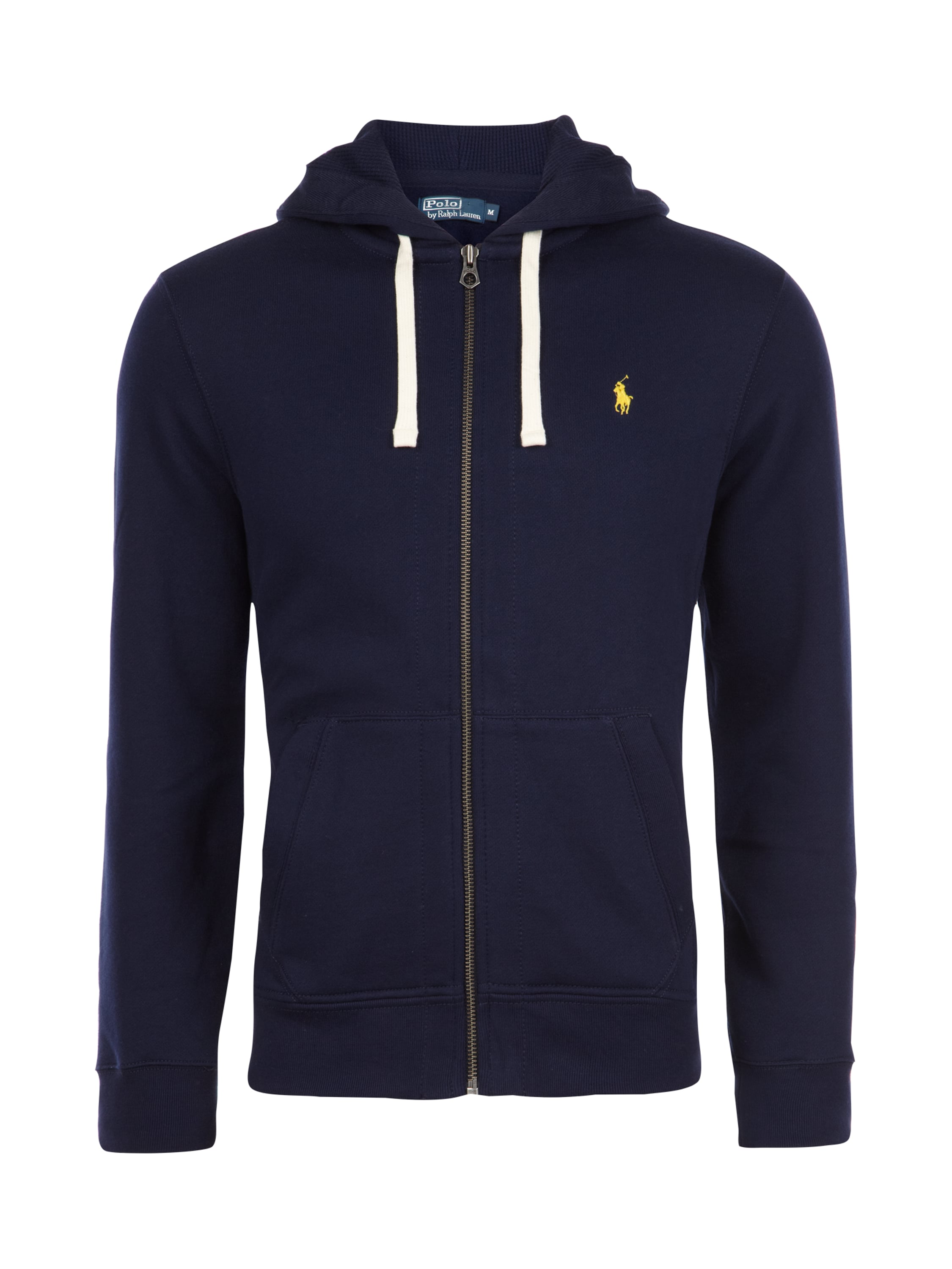 polo ralph lauren sweatjacke mit logo stickerei in blau. Black Bedroom Furniture Sets. Home Design Ideas