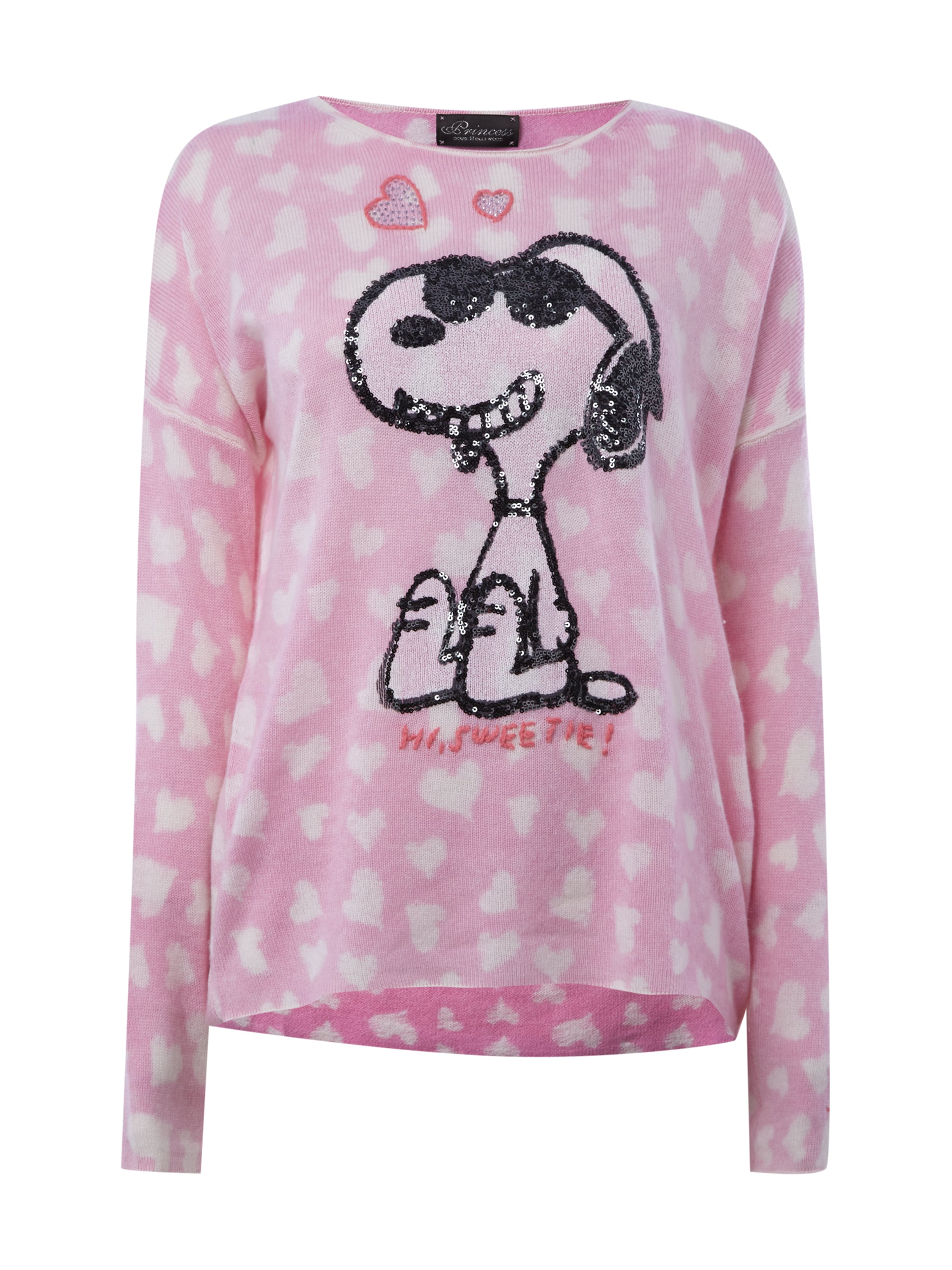 princess goes hollywood 2 princess goes hollywood pullover mit snoopy. Black Bedroom Furniture Sets. Home Design Ideas