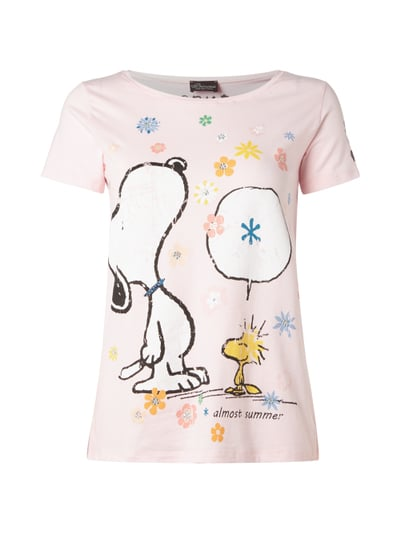 princess goes hollywood t shirt mit snoopy und woodstock print in. Black Bedroom Furniture Sets. Home Design Ideas