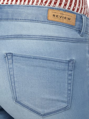 Minnie Skinny Jeans im Stone Washed-Look REVIEW online kaufen - 1