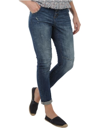 s.Oliver Used Look Boyfriend Fit 5-Pocket-Jeans Jeans - 1