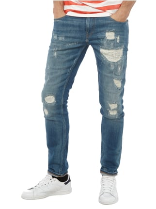 Scotch & Soda Skinny Jeans im Destroyed Look Jeans - 1