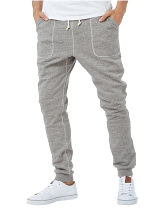 Scotch & Soda Sweatpants mit Tunnelzug Hellgrau meliert - 1