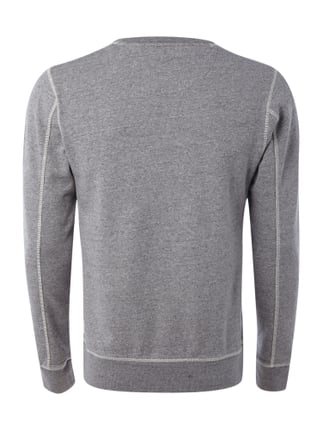 Scotch & Soda Sweatshirt in Melangeoptik Hellgrau meliert - 1