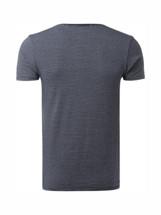 Scotch & Soda T-Shirt mit Stretch-Anteil Blau - 1
