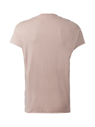 Selected Homme Oversized T-Shirt aus reiner Baumwolle Rosa - 1