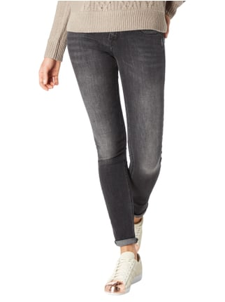 Silver Jeans Coloured Skinny Fit 5-Pocket-Jeans Dunkelgrau - 1