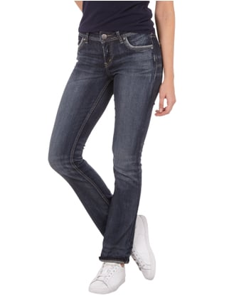 Silver Jeans Double Stone Washed Straight Cut Jeans Jeans - 1