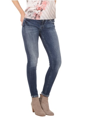 Silver Jeans Stone Washed Skinny Fit 5-Pocket-Jeans Jeans - 1