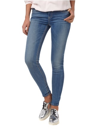 Silver Jeans Super Skinny Fit Jeans - Stone Washed Blau - 1