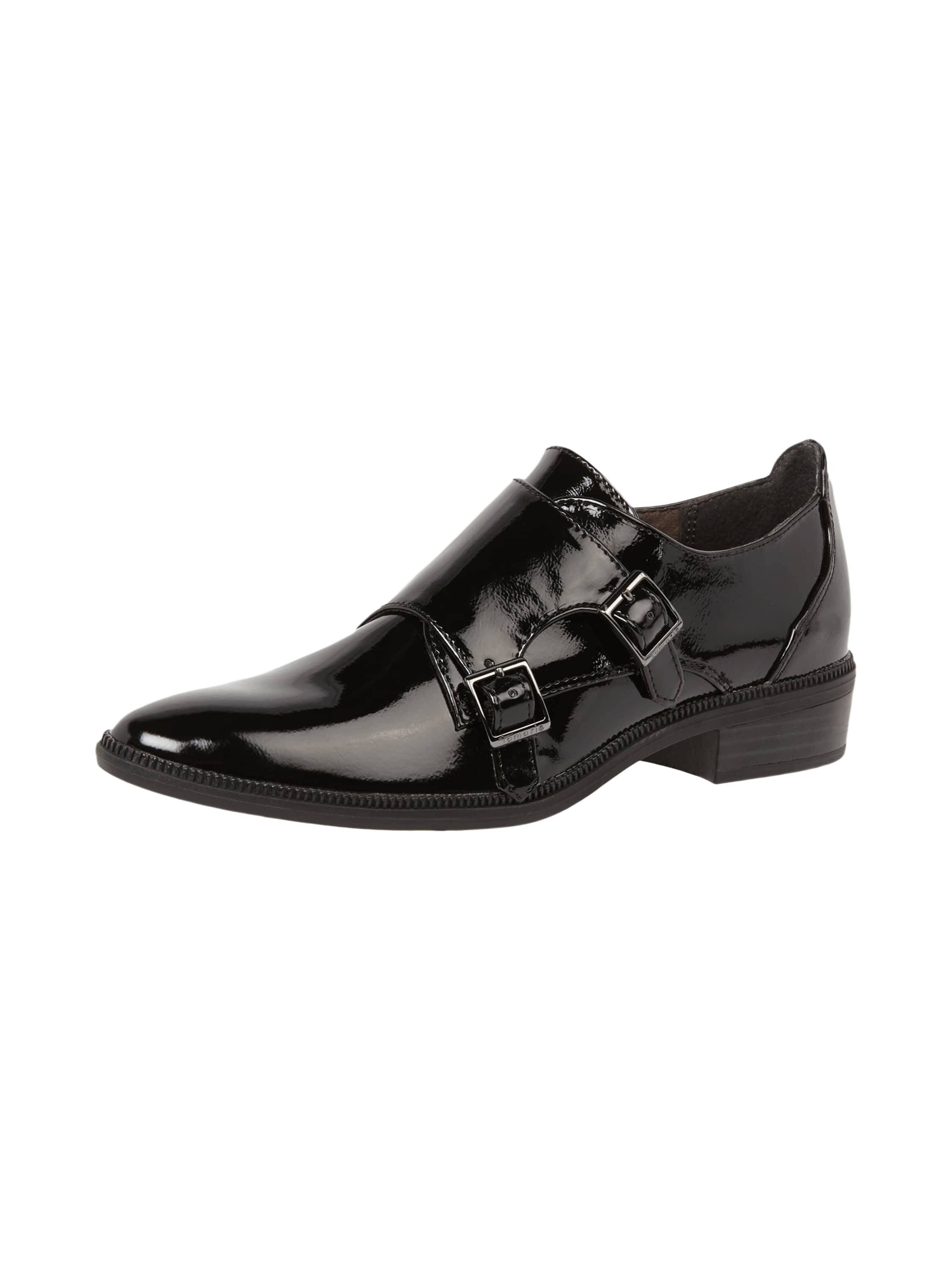 double monk straps in lackleder optik fashion id online shop. Black Bedroom Furniture Sets. Home Design Ideas