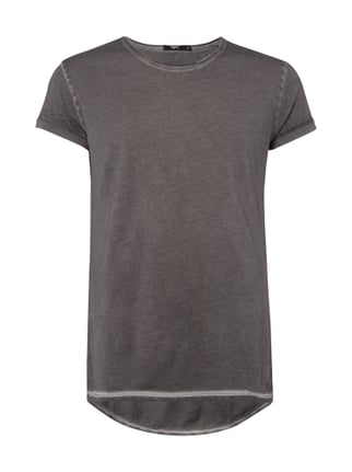 T-Shirt im Washed Out-Look Grau / Schwarz - 1