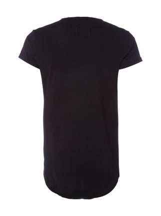 Tigha T-Shirt im Washed Out-Look Schwarz - 1