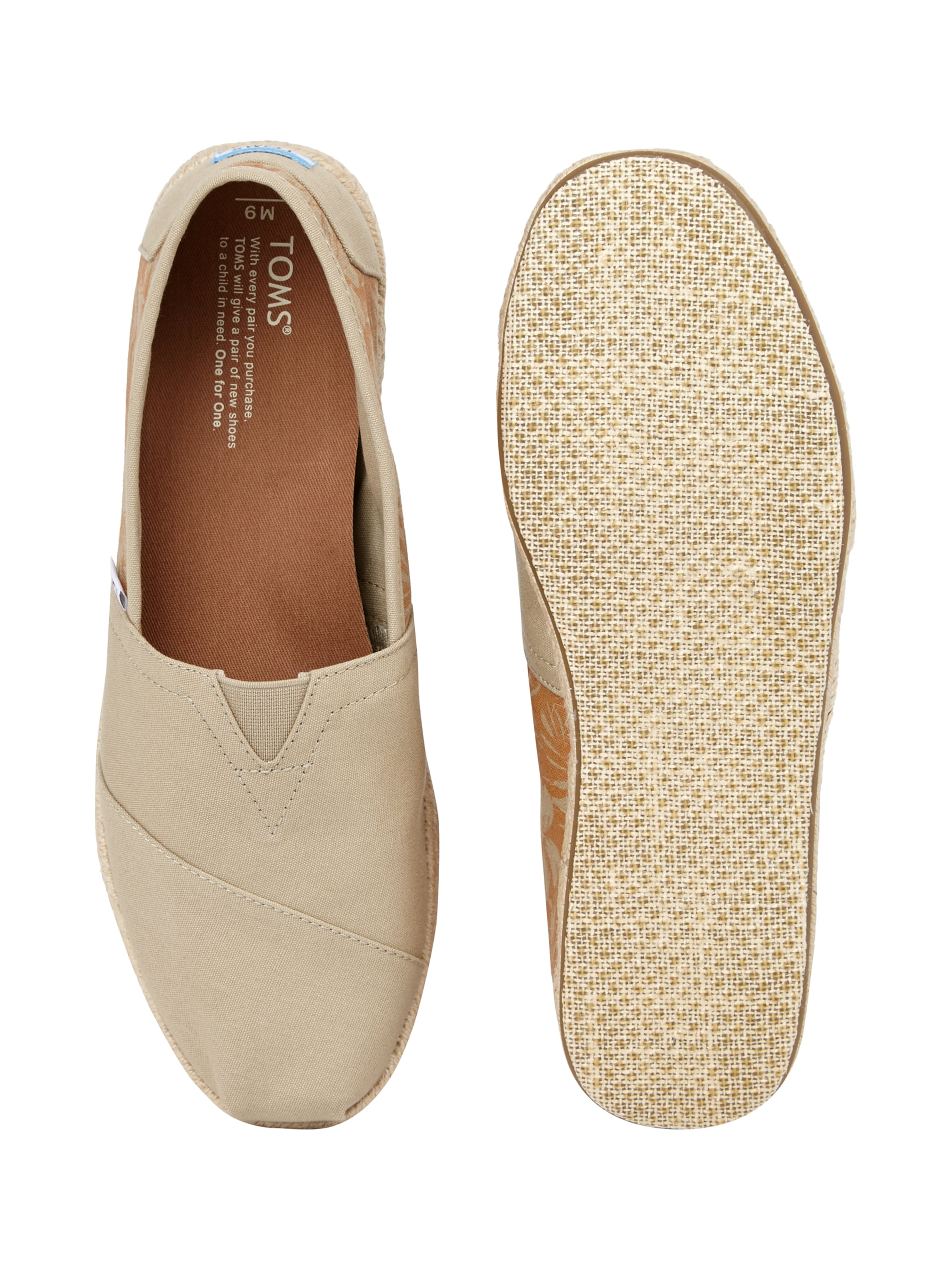 toms espadrilles mit hawaii muster in wei online entdecken 9446445 p c online. Black Bedroom Furniture Sets. Home Design Ideas