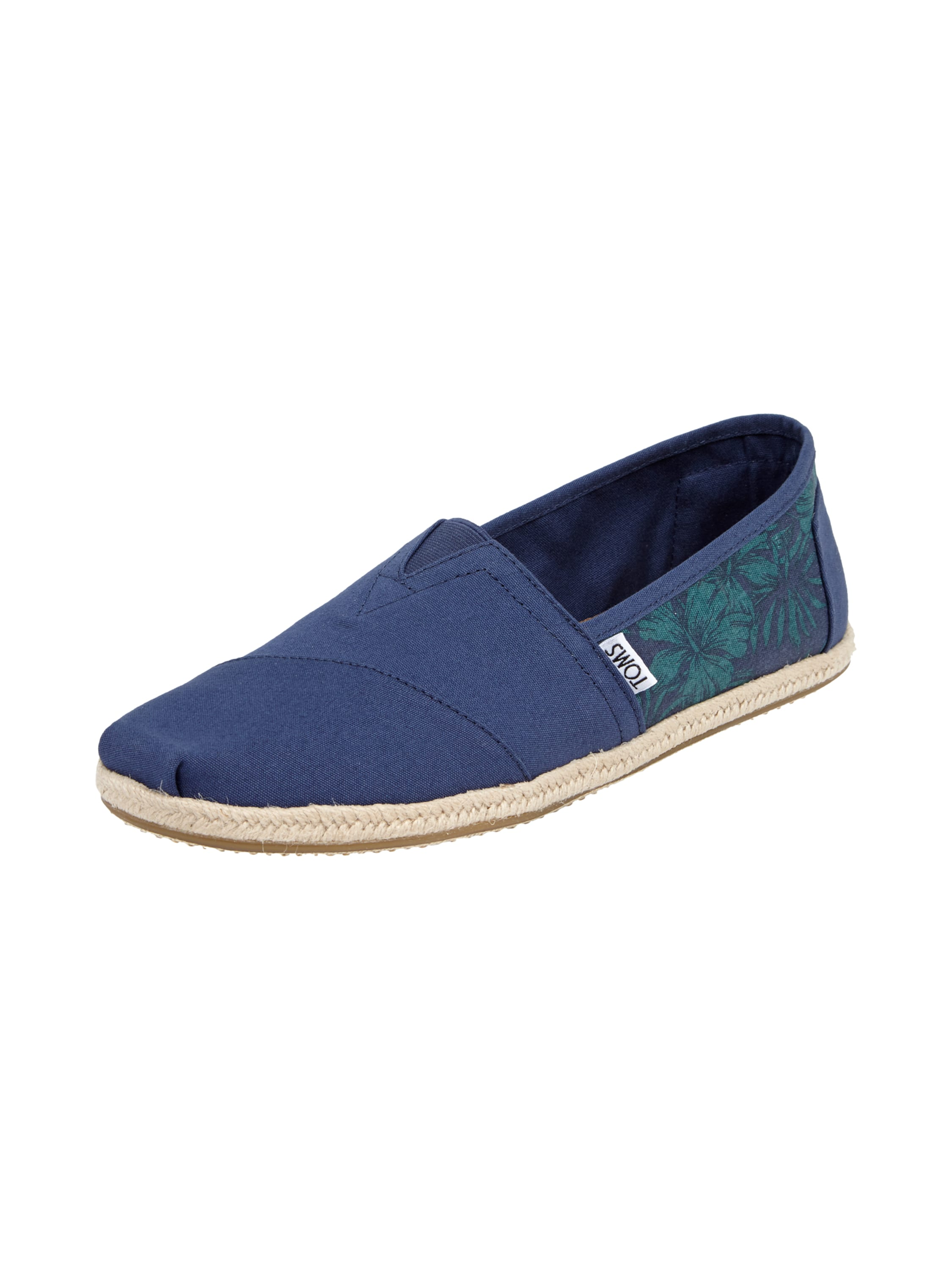 toms espadrilles mit hawaii muster in blau t rkis online entdecken 9446444 p c at online. Black Bedroom Furniture Sets. Home Design Ideas