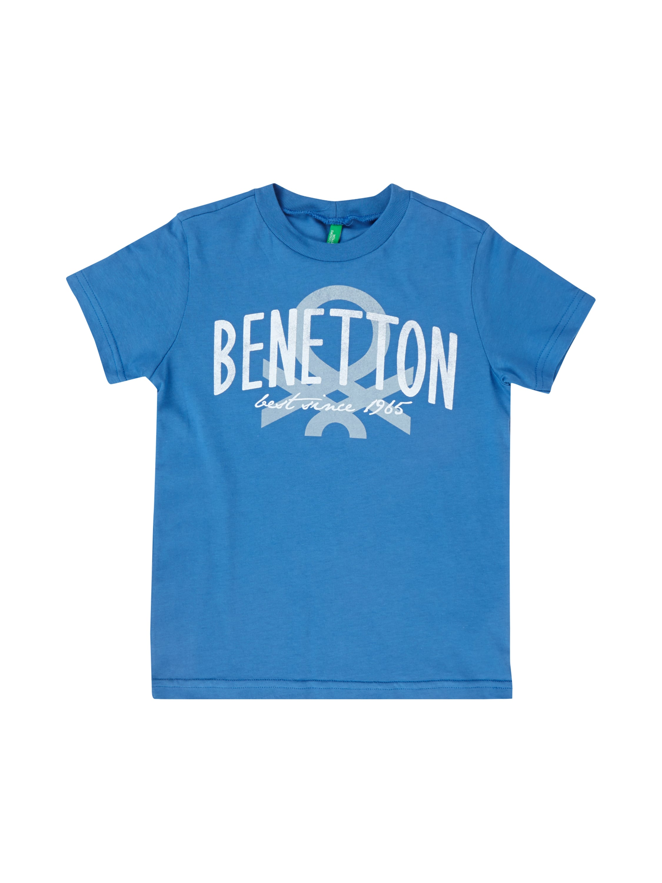 United colors of benetton t shirt aus baumwolle mit logo for United colors of benetton logo