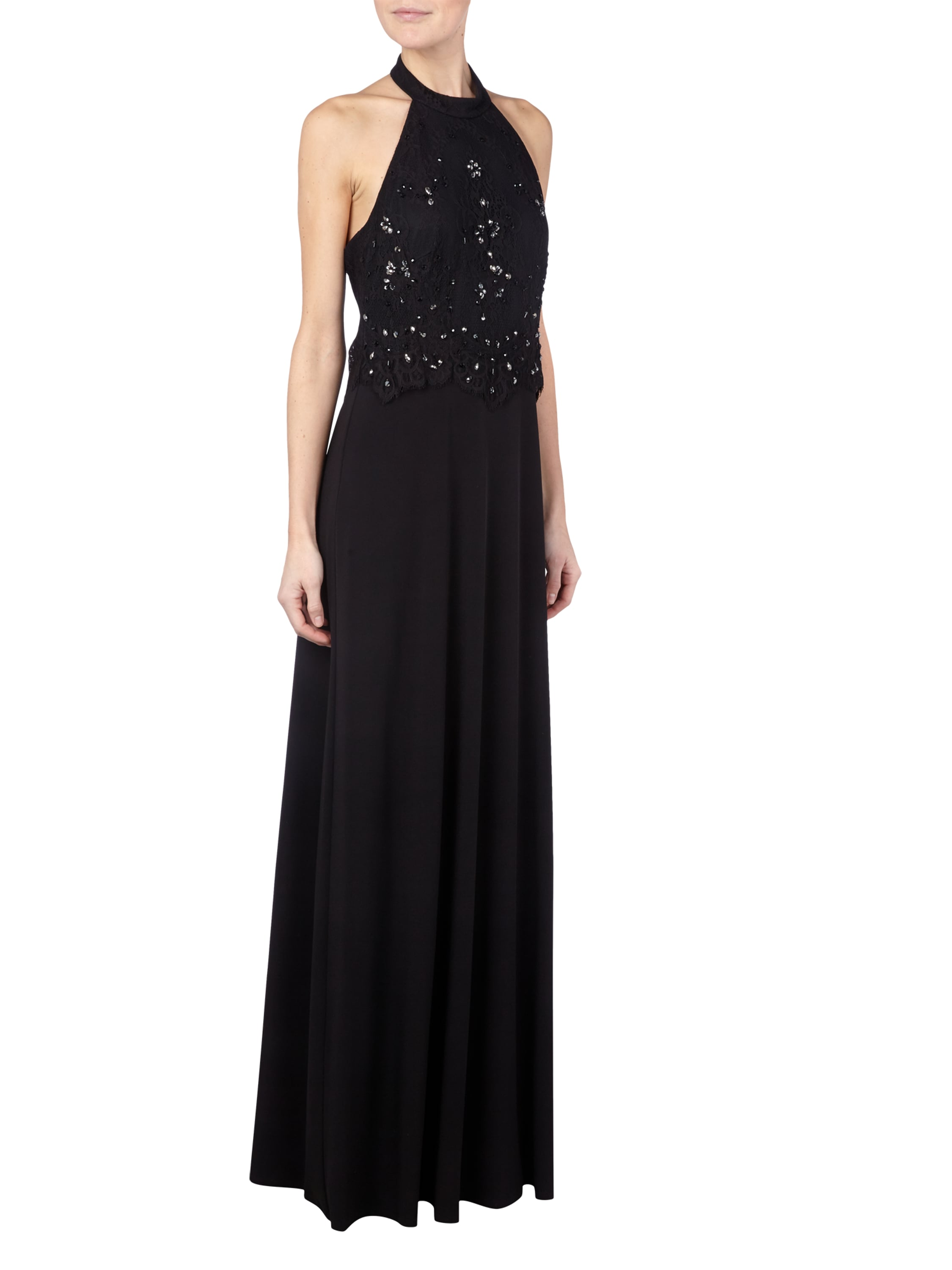Abendkleid Mit Collierkragen. jakes collection abendkleid mit ...
