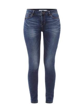Skinny Fit 5-Pocket-Jeans im Stone Washed-Look Blau / Türkis - 1