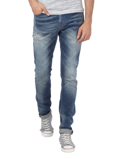 7 for all mankind Destroyed Skinny Fit Jeans Jeans - 1