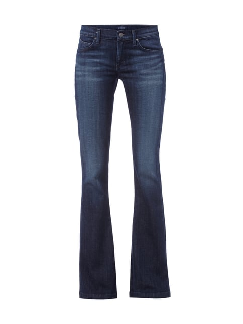 Flared Cut 5-Pocket-Jeans Blau / Türkis - 1
