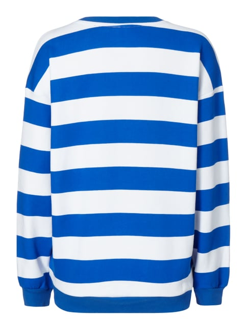 adidas Originals Sweatshirt mit Football-Aufnähern Royalblau - 1