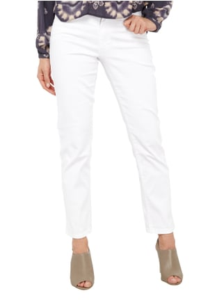 Angels Coloured Straight Fit 5-Pocket-Jeans Weiß - 1