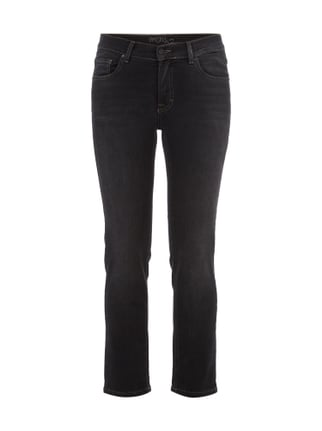 Regular Fit Coloured 5-Pocket-Jeans Grau / Schwarz - 1
