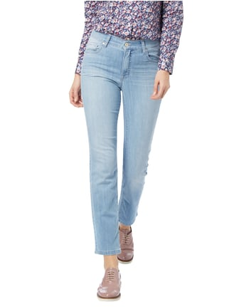 Angels Stone Washed 5-Pocket-Jeans Hellblau meliert - 1